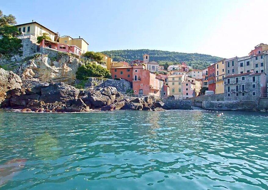 Grand Hotel Portovenere: A decadent and glamorous wedding venue on the Italian Riviera
