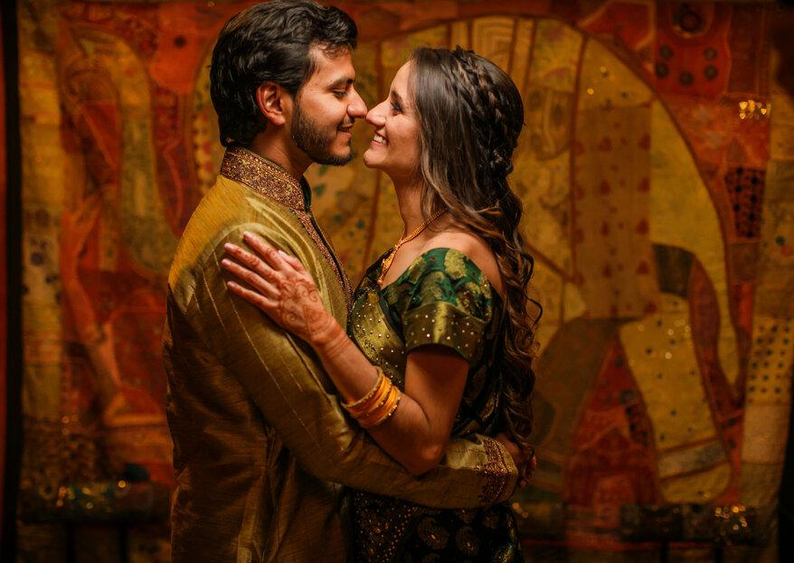 La historia de Akbar y Katherine, una boda hindu-católica sin precedentes