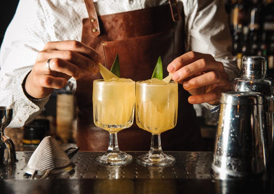 15 cocktails espetaculares para dar brilho e classe ao seu casamento