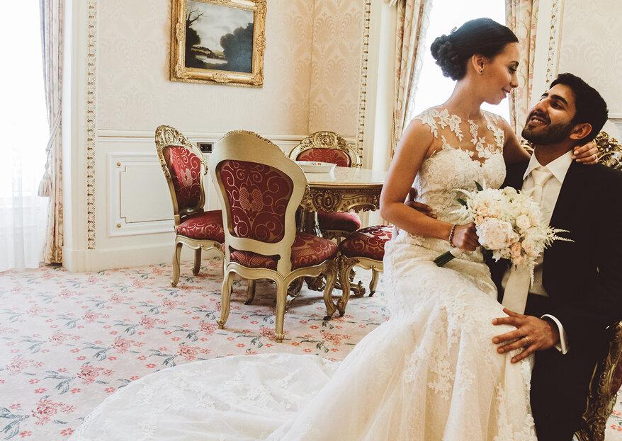 Inês e Erik: um casamento recheado de sofisticação e beleza multi-cultural!
