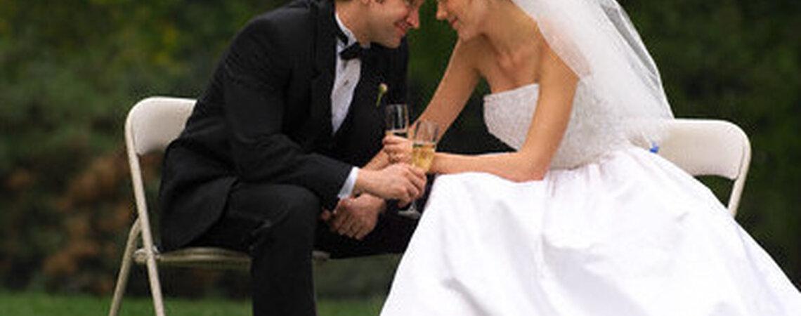 D coration pour un mariage en plein air for Robes de mariage en plein air