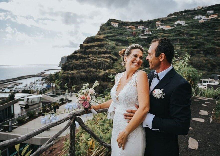 Para um casamento romântico: os espaços para a sua celebração!
