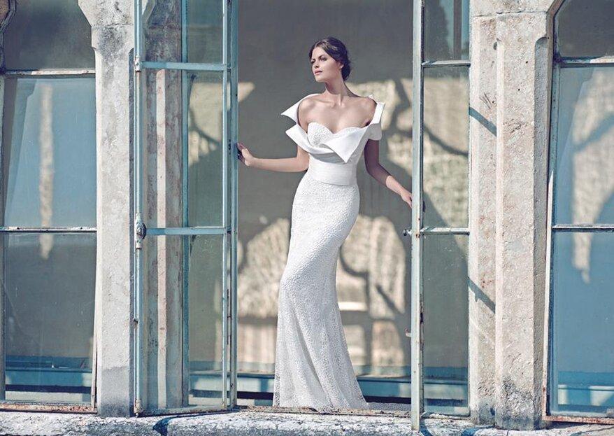 Ad ogni abito da sposa la sua scollatura: quali sono i modelli che ti stanno meglio?
