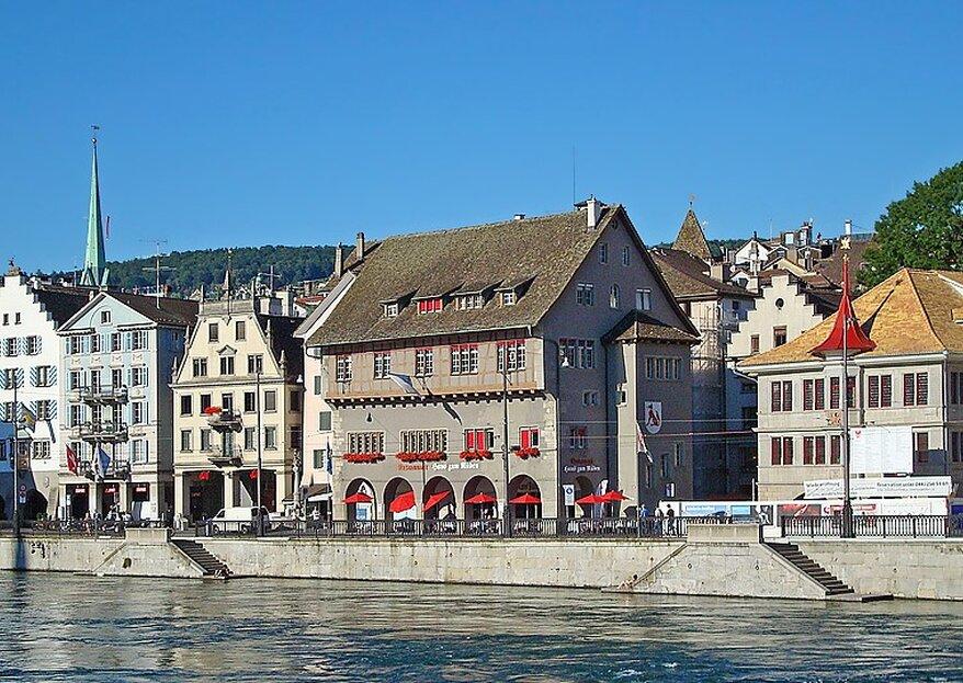 Die 5 schönsten Zunfthäuser zum Heiraten in Zürich!