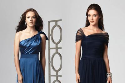 Royal blue: Vestidos color azul para damas de boda