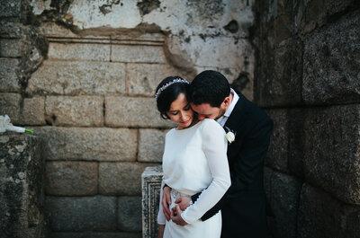Unidos por una misma pasión: la boda de Ángeles y Raúl