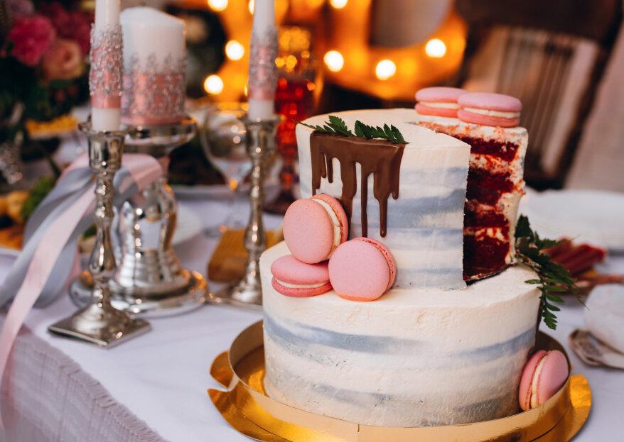 Los 5 sabores de tortas de bodas más populares del 2020
