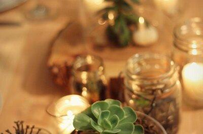 Tendencias 2013: decoración para matrimonios verdes