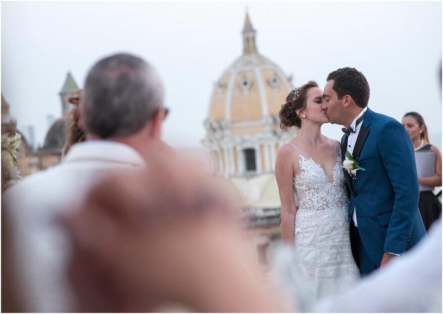 Aquí están los 9 motivos que te convencerán de casarte en Cartagena