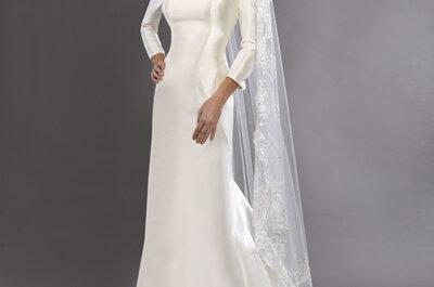 Deslumbra en la boda con un vestido a medida