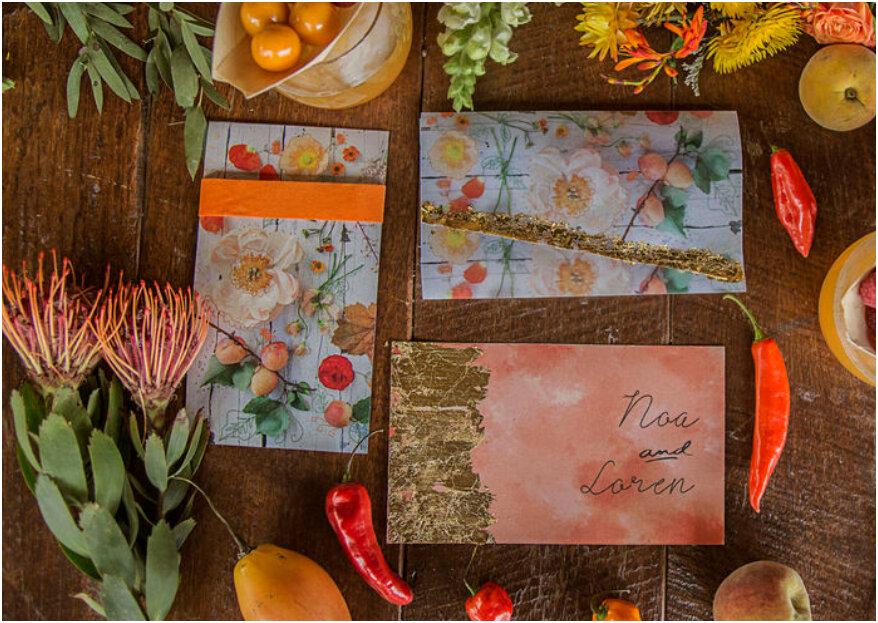 Invitaciones de boda perfectas: ¡7 mandamientos y un extra para lograrlo!