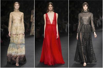 Vestidos de festa impressionantes das marcas mais conceituadas da Paris Fashion Week 2015