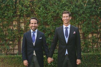 La preciosa boda de Álvaro y Miguel en La Quinta de Jarama