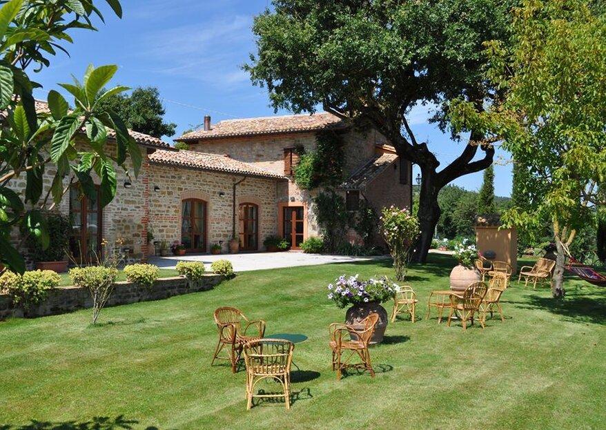 Aria buona, location onirica e catering di lusso ovvero Antica Villa Castelli
