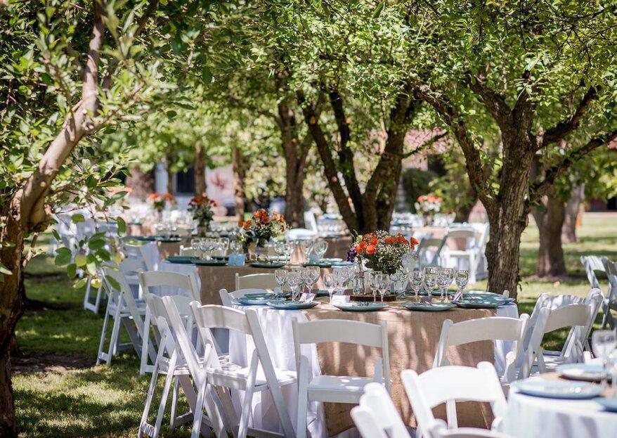 Elige el catering ideal para tu matrimonio y sorprende a todos tus invitados