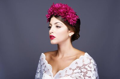 10 Acconciature da sposa secondo il tuo colore di capelli