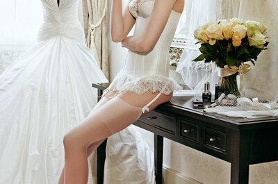 4 consejos para elegir la lencería de novia