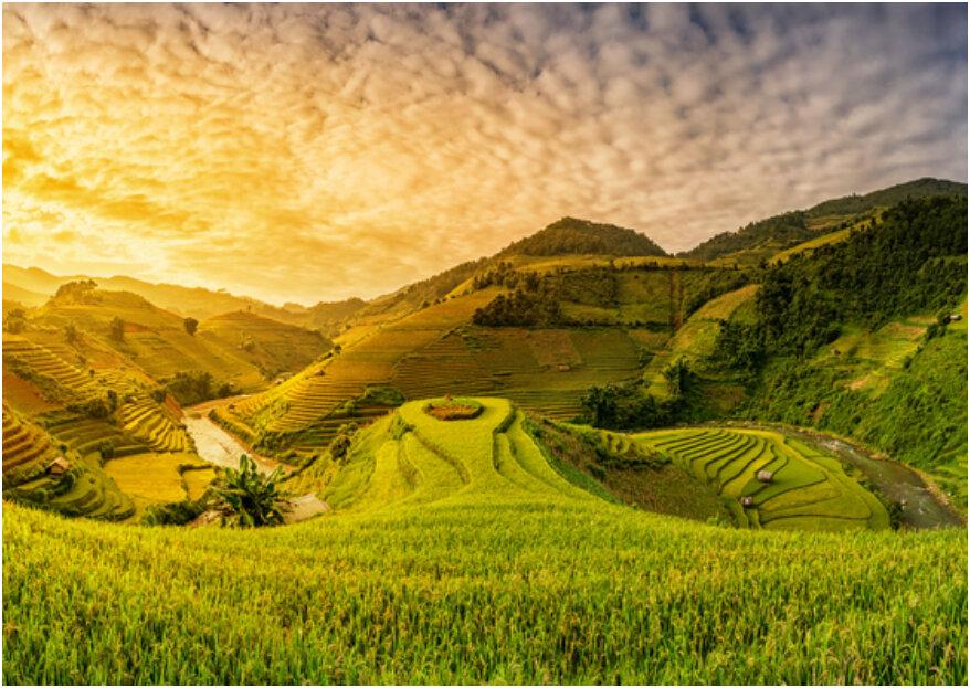 Luna de miel en Vietnam: ¡se convertirá en un viaje en el tiempo!