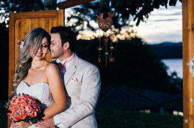 Pola & Israel: casamento rústico chic LINDO em São Paulo une chilena e brasileiro!