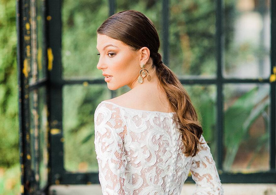 Os 5 estilos de penteados de noiva que estão a fazer o maior sucesso em 2019. Descubra-os!
