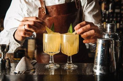 12 cócteles infaltables en el bar de tu boda