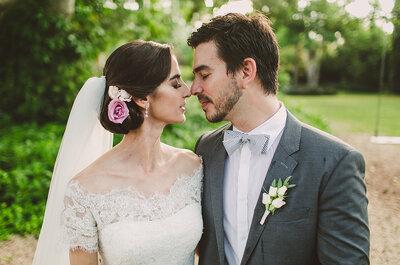 En una inmensidad azul: La boda de Delia y Carlos