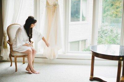 Wie halte ich mein Brautkleid bis zum großen Tag geheim?
