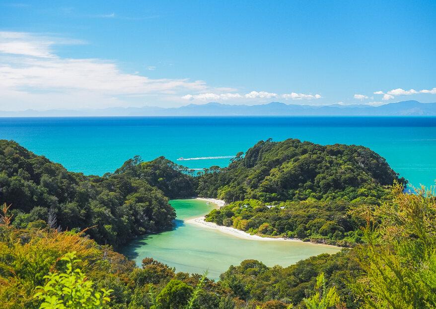 Lua de mel na Nova Zelândia: fantasia no mundo real