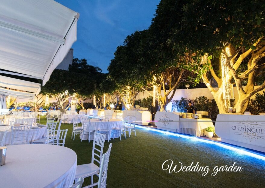 Sposarsi con stile ed eleganza a due passi dal mare presso Villa Chiringuito