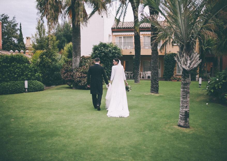 Una fiesta flamenca donde brillaba amor: la boda de Cristina y Guillermo