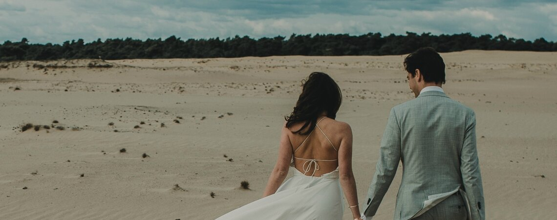 Styled Shoot: Romance in the Dunes