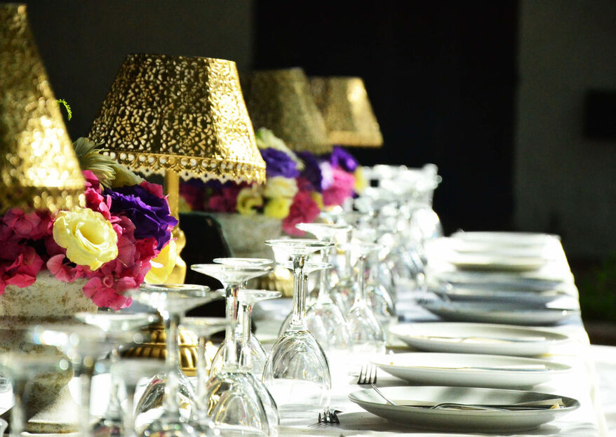 Descubre la importancia de las flores y el catering en tu celebración de matrimonio