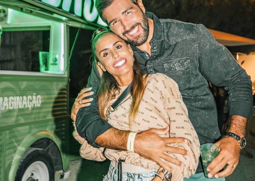 A família de Carolina Patrocínio vai crescer: a apresentadora está grávida pela quarta vez!