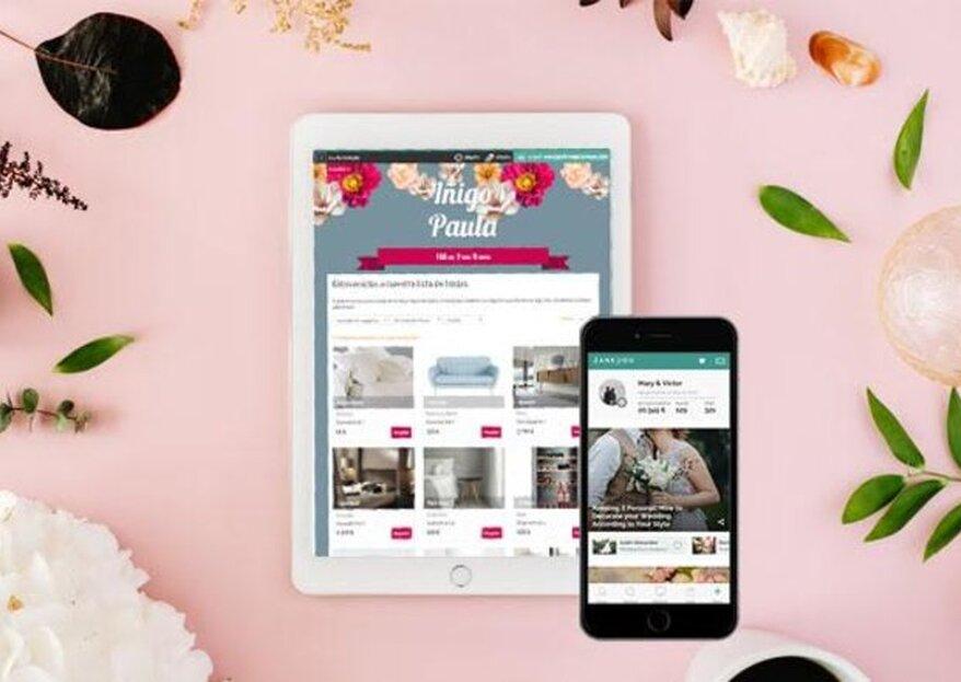 Baixe o app do Zankyou e organize todo o seu casamento com o celular!