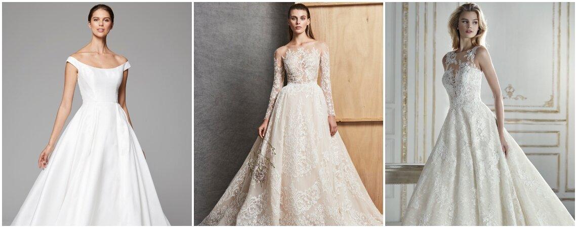 Princess Cut Wedding Dresses for 2019: Feel Like Royalty On Your Big Day