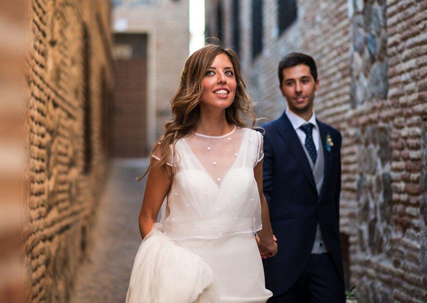 De un concierto al altar: la boda de Natalia y Rubén