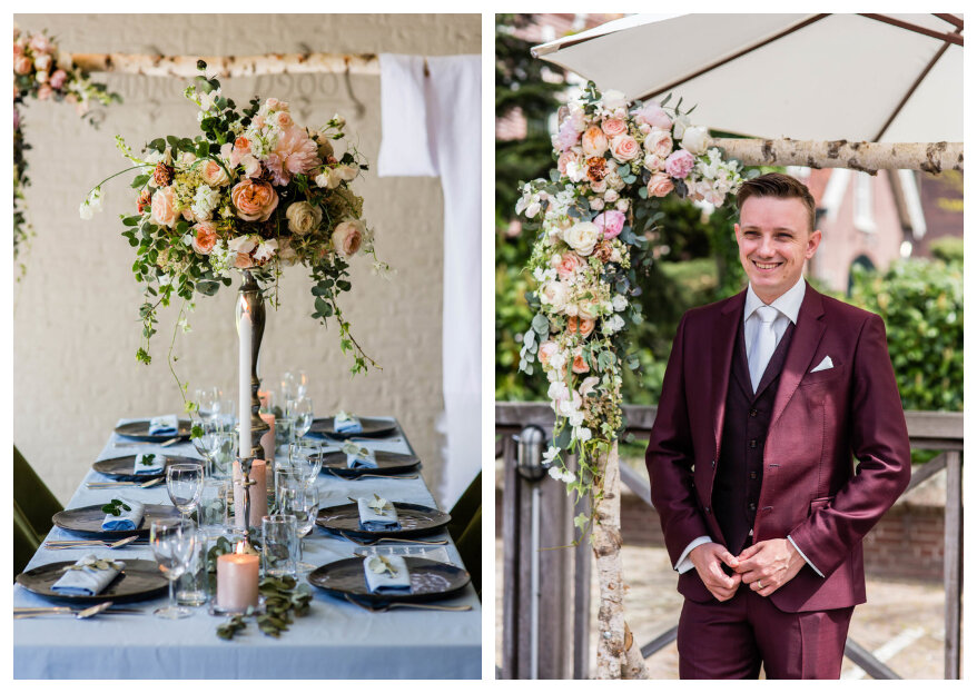 Bohemian Styled Wedding Shoot: Flowers Everywhere!