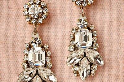 ¿Qué joyas combinar con tu look de novia?