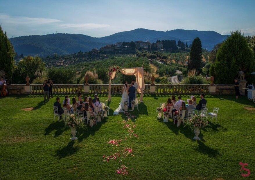 Per un matrimonio personalizzato in ogni minimo dettaglio potete contare sul wedding planner di fiducia