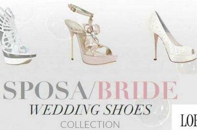 Sapatos para noivas de Loriblu, coleção 2012