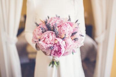 Un ramo para cada tipo de novia: elige según tu personalidad
