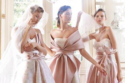 La sposa in rosa: ecco gli abiti più belli del 2017