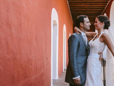 Una boda hermosa al sonido de gaitas: El gran día de María José y Alfredo en Hacienda San Agustín