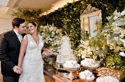 Casamento clássico de Tatiana & Leandro: uma noite cheia de elegância e estilo no Rio de Janeiro