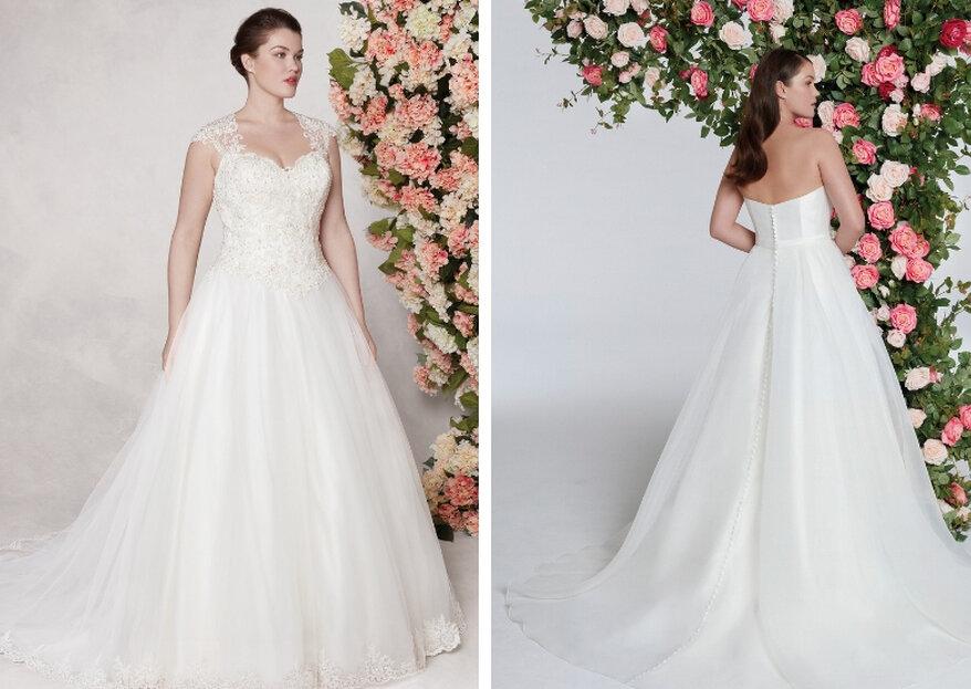 Sincerity Bridal y Sweetheart Gowns Collections: magníficos vestidos que se adaptan a cualquier silueta