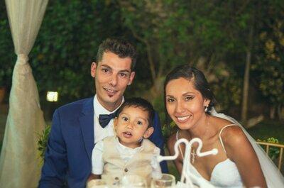 Giulliana y Diego. ¡Conoce una historia de amor que comenzó en Italia!