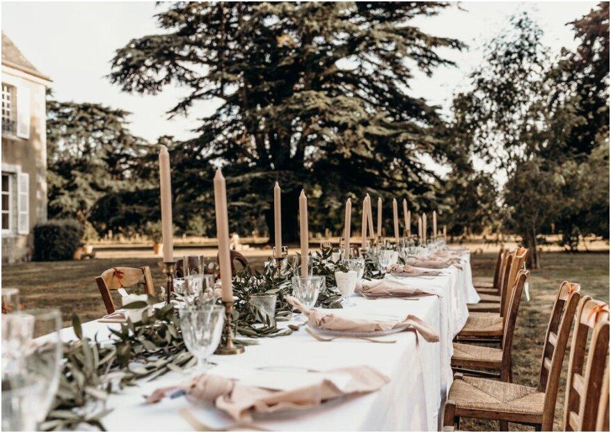 5 stappen voor de tafelschikking voor jullie bruiloft!
