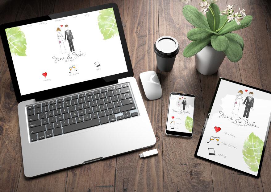 ¿Parte impreso o digital? Descubre qué tipo de invitación de boda es la adecuada para tu matrimonio