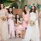 Vestidos en color pastel para tus damas de boda - Foto: Marlon Capuyan