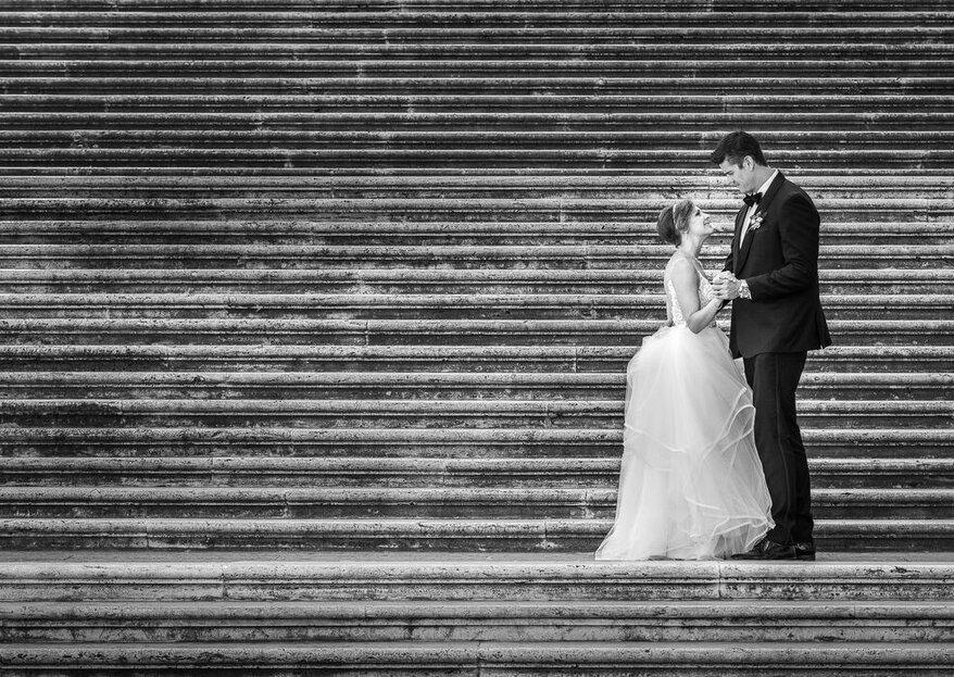 Che la gioia delle nozze vi leghi l'uno all'altra per tutta la vita...